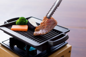 牛肉一口ステーキ