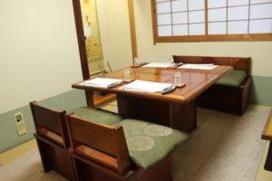 テーブル席 完全個室